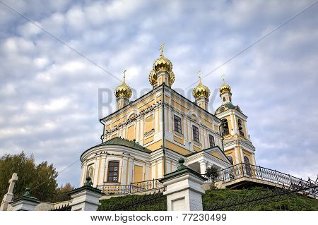 Church of the Resurrection. Ples, Golden Ring of Russia