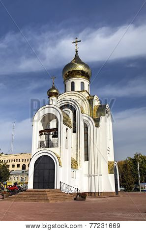 Church of the great martyr Georges the Victorious. Ivanovo, Russia