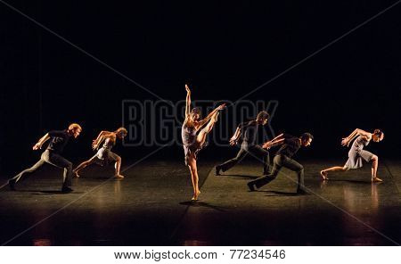 MOSCOW - NOVEMBER, 26:  Festival of  Contemporary choreography