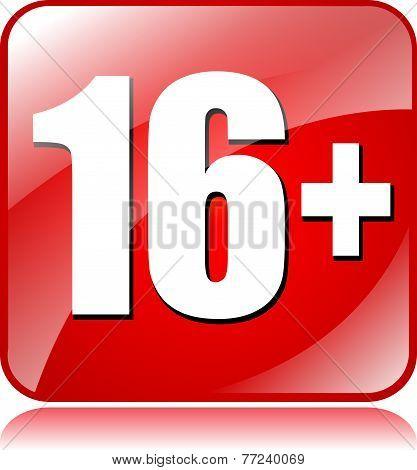Sixteen Plus Icon