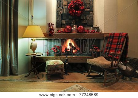 Comfortable Christmas Interior