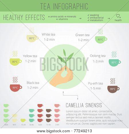 Tea Time Infographics