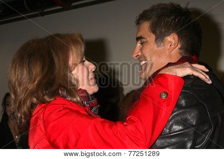 LOS ANGELES - NOV 30:  Deidre Hall, Galen Gering at the 2014 Hollywood Christmas Parade at the Hollywood Boulevard on November 30, 2014 in Los Angeles, CA