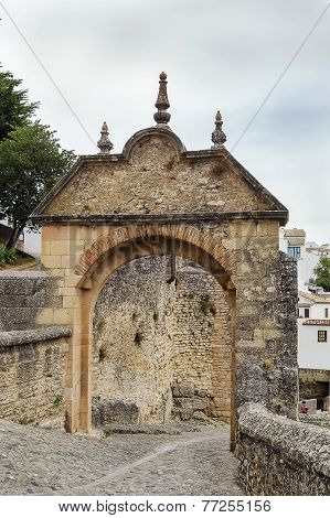 Arch Of Philip V, Ronda, Spain