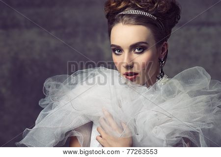 Charming Aristocratic Vintage Woman