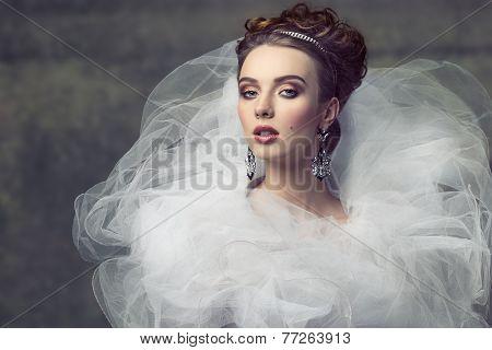 Sophisticated Retro Female