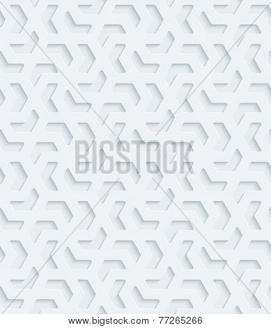 Abstract 3d seamless background. Vector EPS10 pattern. See others in a Perforated Paper Set.