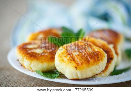 Cheesecakes Fritters