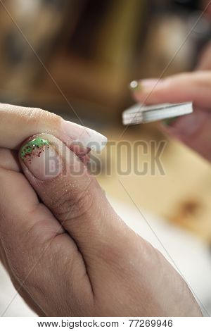 Cleaning Nails