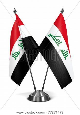 Iraq - Miniature Flags.