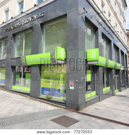 Prima Banka In Slovakia