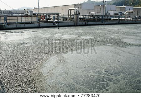 Waste Water Treatment With Biological Mud