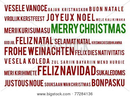 Merry Christmas In 22 Languages