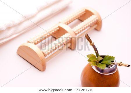 Spa and beauty tea
