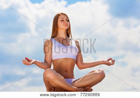 In The Lotus Posture