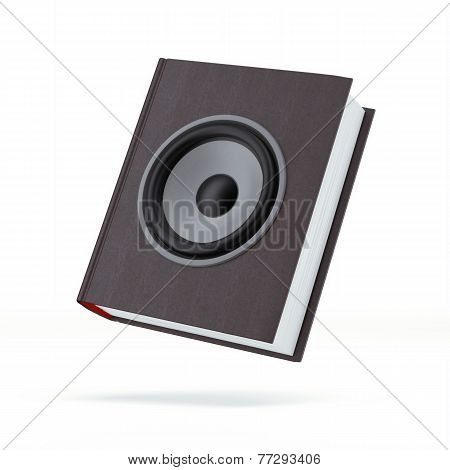 Book with the speaker