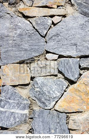 Background Of Natural Cement Or Stone