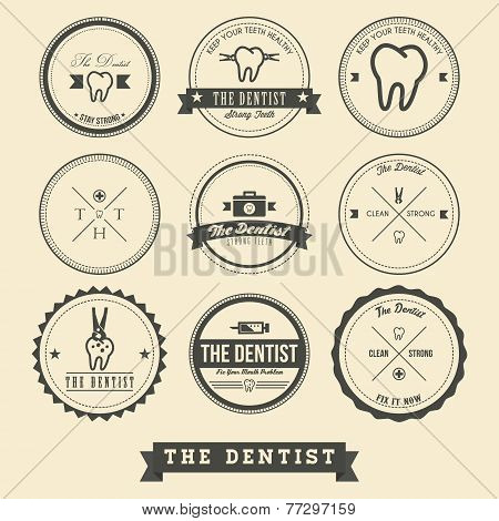Dentist Label Design