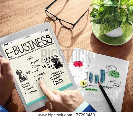 E-Business Technology Concept