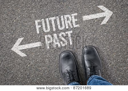 Decision At A Crossroad - Future Or Past