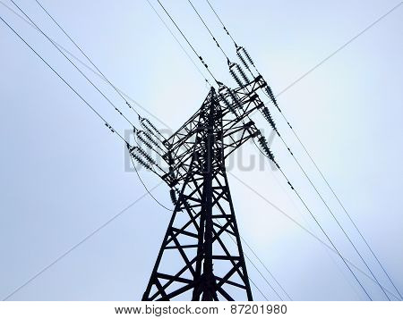 Tower of power line