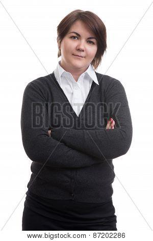 Businesswoman Isolated