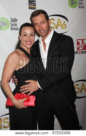 LOS ANGELES - APR 1:  Lisa Kouchak Martsolf, Eric Martsolf at the 6th Annual Indie Series Awards at the El Portal Theater on April 1, 2015 in North Hollywood, CA