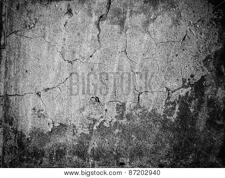 Cracked Stone Wall Texture