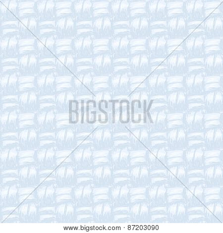 Blue canvas texture Seamless vector background Hand drawn