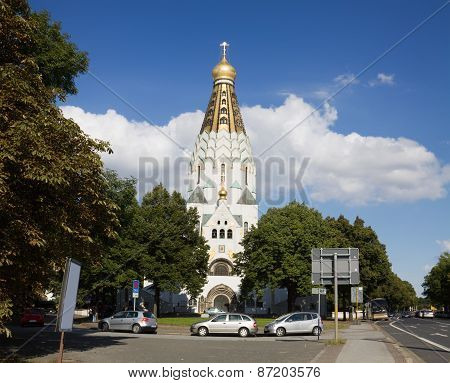 Russian Orthodox Church In Leipzig, Germany