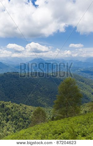 View Of The Pyrenees At Boussenac