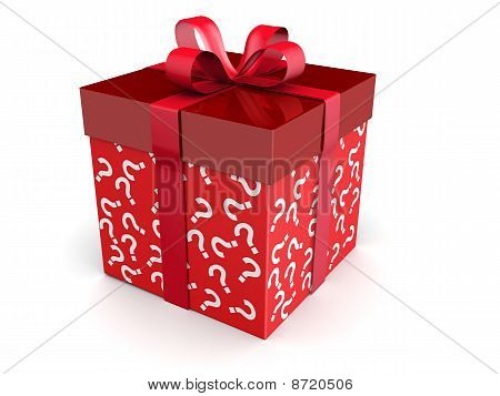Mystery Gift And Surprises Concept