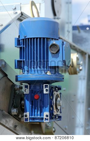 Blue Powerful Electric Motors For Modern Industrial Equipment