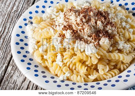 Pasta With Cream Cheese.
