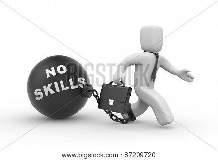 No skills