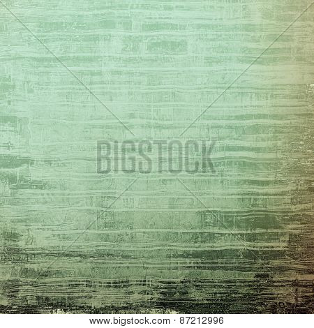 Grunge old texture as abstract background. With different color patterns: brown; gray; green