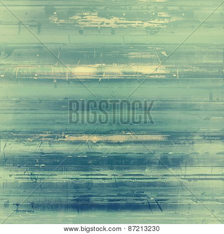 Rough vintage texture. With different color patterns: yellow (beige); gray; green; cyan