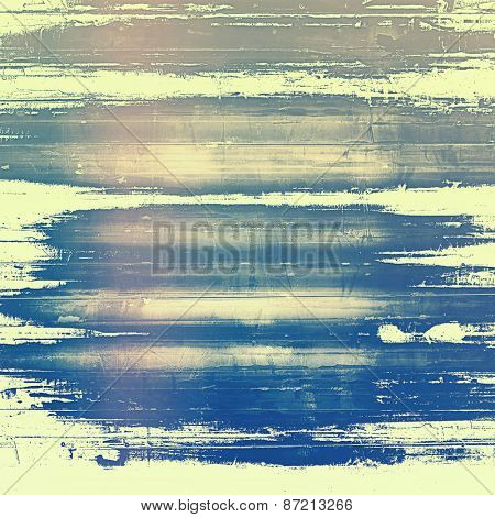 Grunge background with space for text or image. With different color patterns: yellow (beige); brown; gray; blue