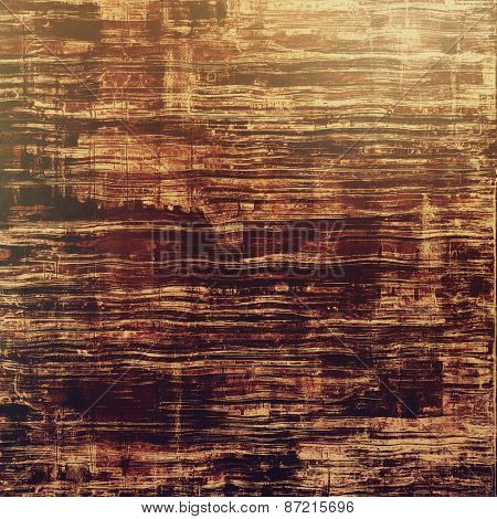 Highly detailed grunge texture or background. With different color patterns: yellow (beige); brown; gray