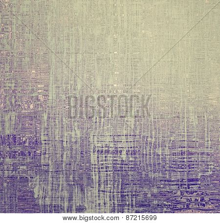 Old abstract grunge background for creative designed textures. With different color patterns: yellow (beige); gray; purple (violet)