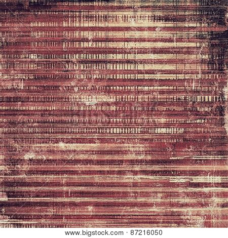 Designed grunge texture or background. With different color patterns: brown; purple (violet); pink