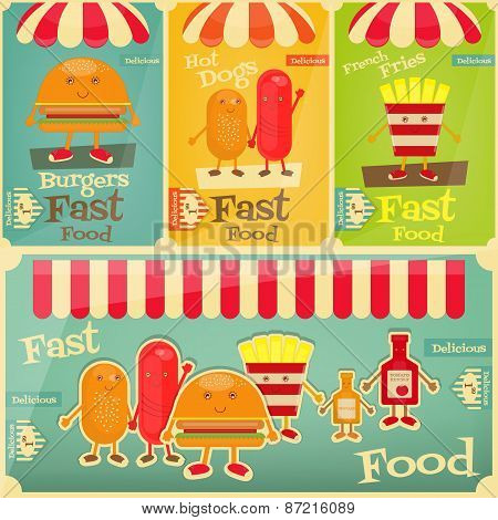 Fast Food Menu Collection
