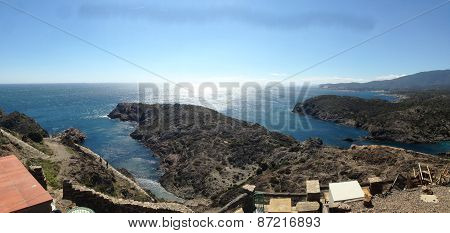 Panoramic view of Cap de Creus