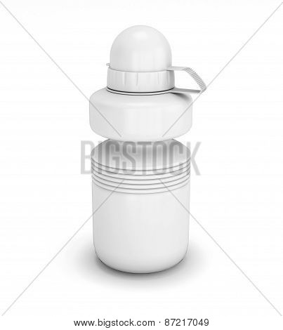 Template Collapsible Sport Water Bottle For Your Design