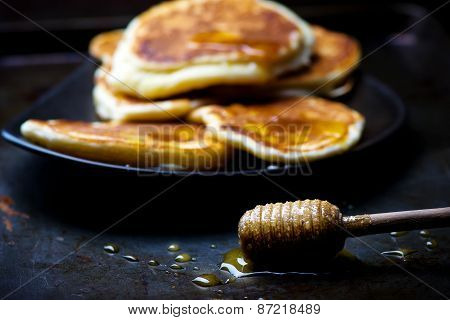Fritters With Honey