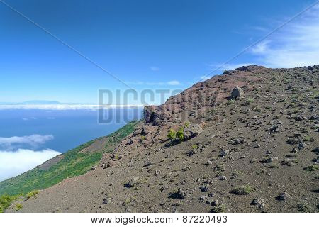 Mountainside in the west of El Hierro