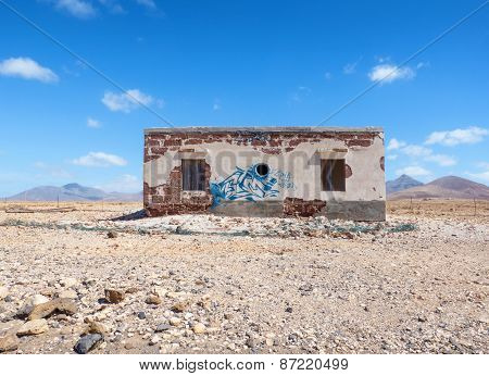 Abandoned house in Fuerteventura