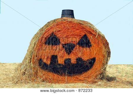 Halloween Bale Of Hay
