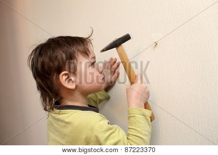 Child With Hammer