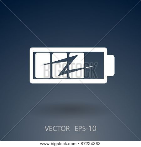 flat battery icon